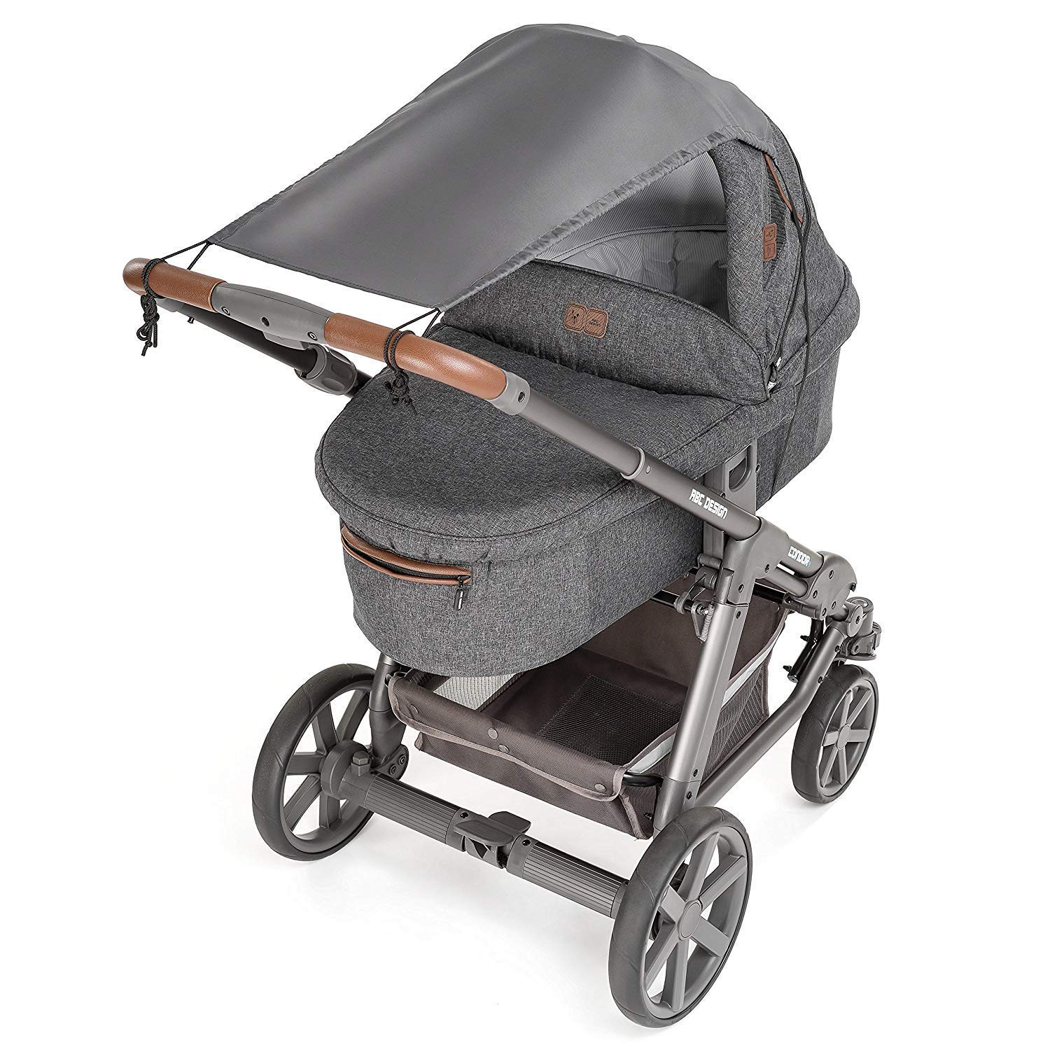 Stroller Sunshade Baby Stroller Cover-Effective UV Rays Cut Design-Stops 99% of The Sun's Rays (UPF50+) Universal fit