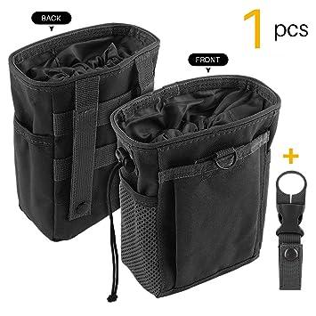 Amazon.com: Bolsa de tiza con cordón para escalada con un ...
