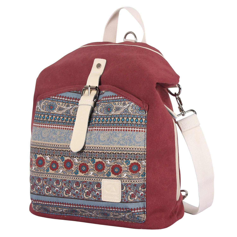 Amazon.com   Womens Backpack Purse Canvas