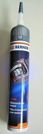 Berner Motorendichtmasse Dichtmasse 200ml für Motor Getriebe Ölwanne Wasserpumpe Opel VW Mercedes Audi Renault Dacia Fiat Peu