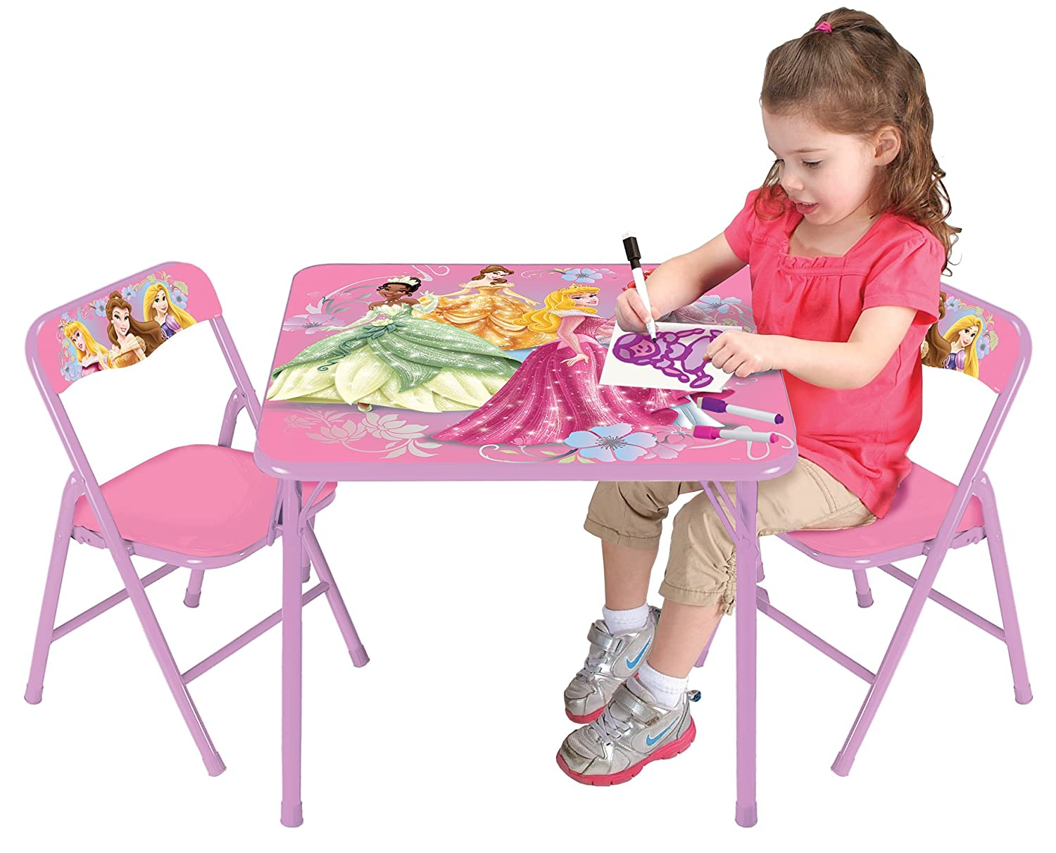 sc 1 st  Amazon.com & Amazon.com: Disney Princess Nouveau Activity Table Set: Toys u0026 Games