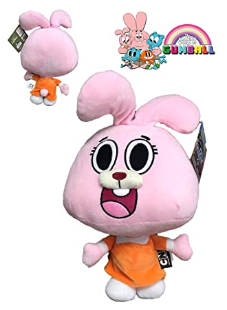 the amazing world of gumball plush toy anais pink character 15