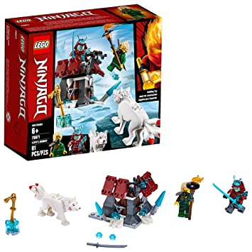 Amazon.com: LEGO Ninjago Lloyds Journey 70671 Kit de ...