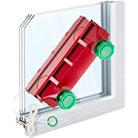 Tyroler Bright Tools Magnetic Window Cleaner The Glider D-4 Indoor and Outdoor Glass Pane Cleaning | Single, Double, or…