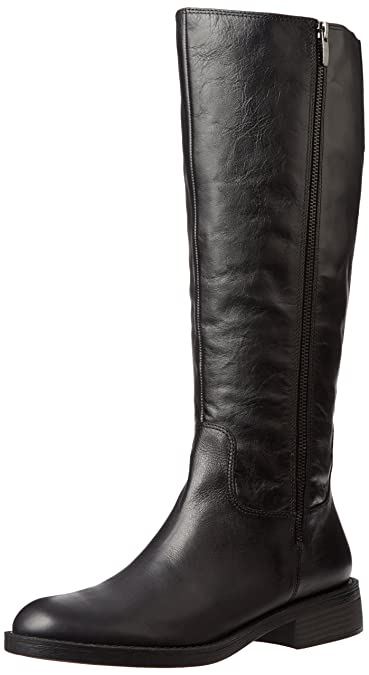155f9ce211d5 Enzo Angiolini Women s Shobi Wide Calf Riding Boot