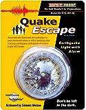 Quake Escape Iluminación de 48 Horas con Alarma que se Activa en caso de Temblor