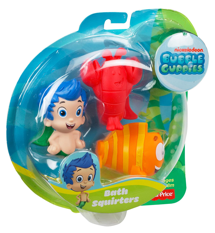amazon com fisher price nickelodeon bubble guppies gil mr