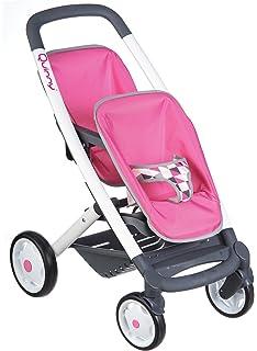 Smoby 253297 Silla de Paseo gemelar de Juguete Accesorio para muñecas - Accesorios para muñecas (