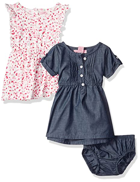 Amazon.com: U.S. Polo Assn. Vestido para bebé y niña.: Clothing