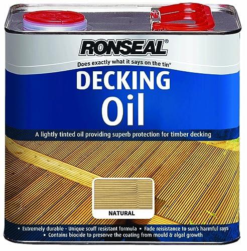 manns premier uv decking oil 5l clear diy. Black Bedroom Furniture Sets. Home Design Ideas