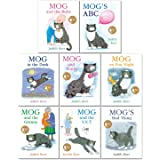 Mog The Cat Books Series 8 Books Collection Set Pack By Judith Kerr (Mog and The Baby, Mog's ABC, Mog in the Dark, Mog and Bu