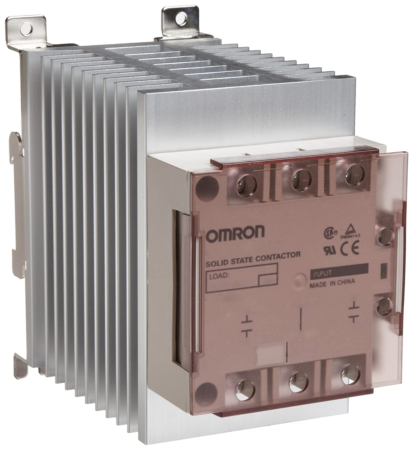 Omron G3pe 515b 3n Dc12 24 Solid State Relay For Heaters Zero Cross Ormron Wiring Diagram Function Yellow Indicator Phototriac Coupler Isolation Triple Phase