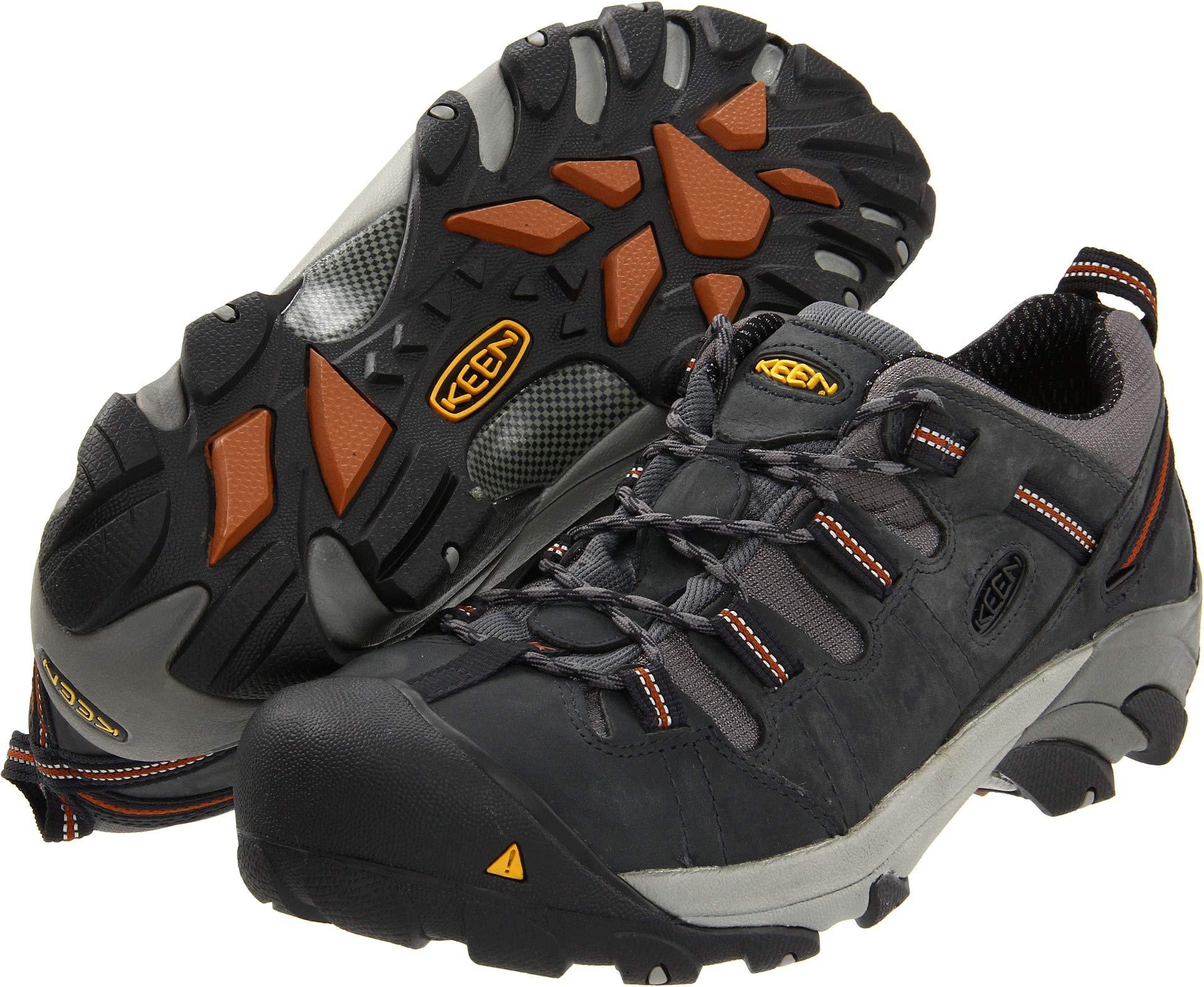 KEEN Utility Men's Detroit Low Steel Toe Shoe,Peacoat,10.5 D US