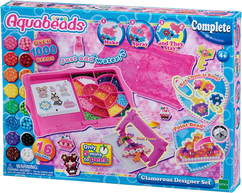 Aquabeads - Glamorous Designer Glamourous Set: Amazon.es: Juguetes y juegos