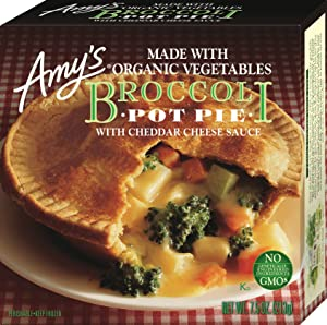 Amy's Broccoli Pot Pie with Cheddar Cheese Sauce, 7.5 Ounce