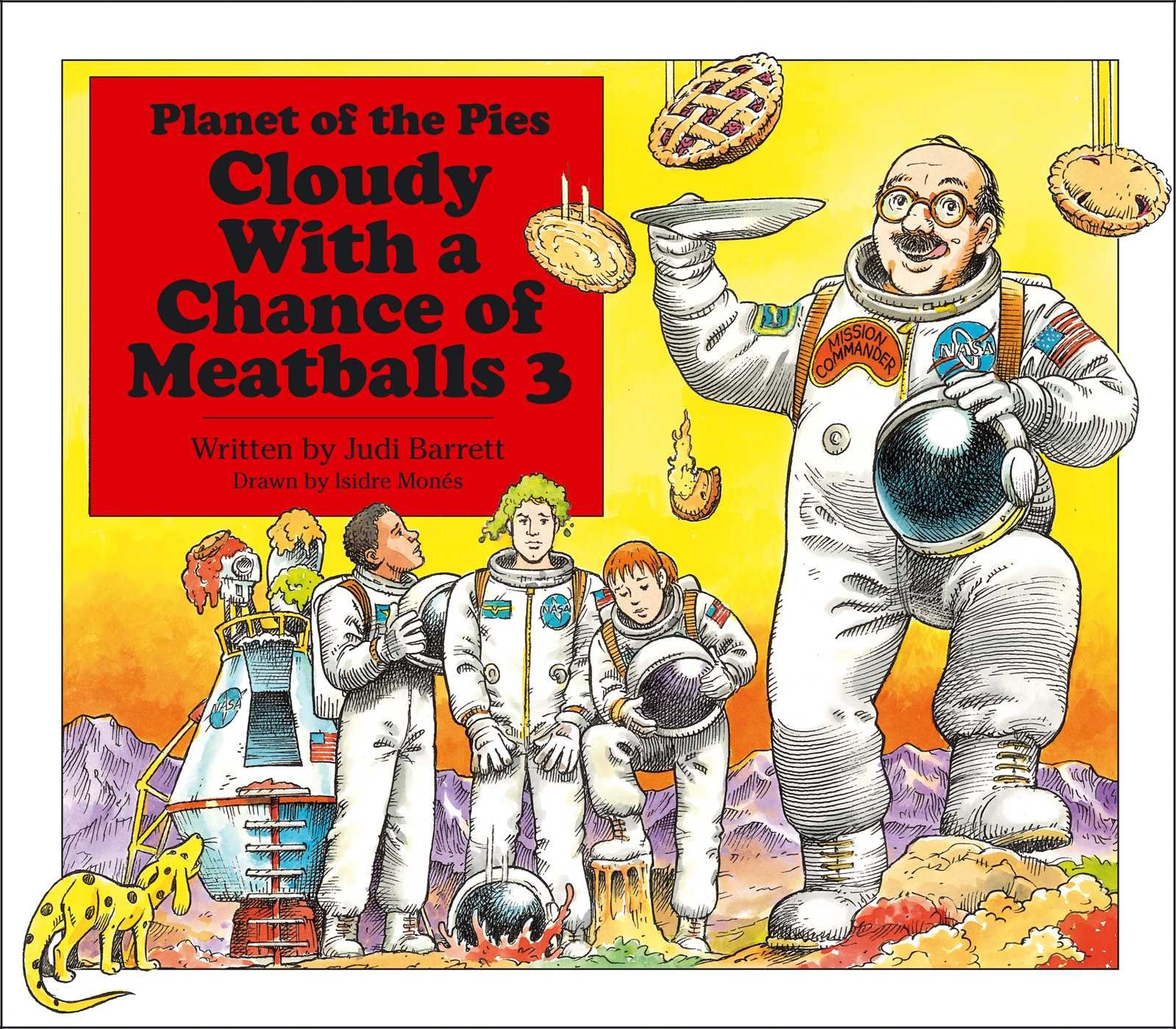 cloudy with a chance of meatballs 3 planet of the pies amazon co