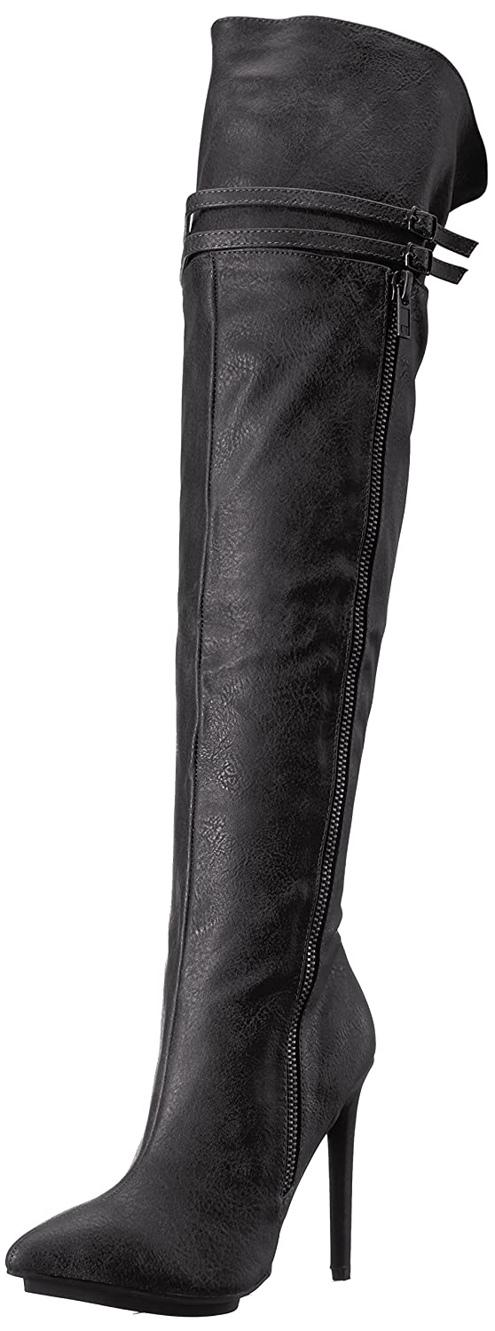 Michael Antonio Women's Wanna Western Boot B0721KZ78G 8.5 B(M) US|Black