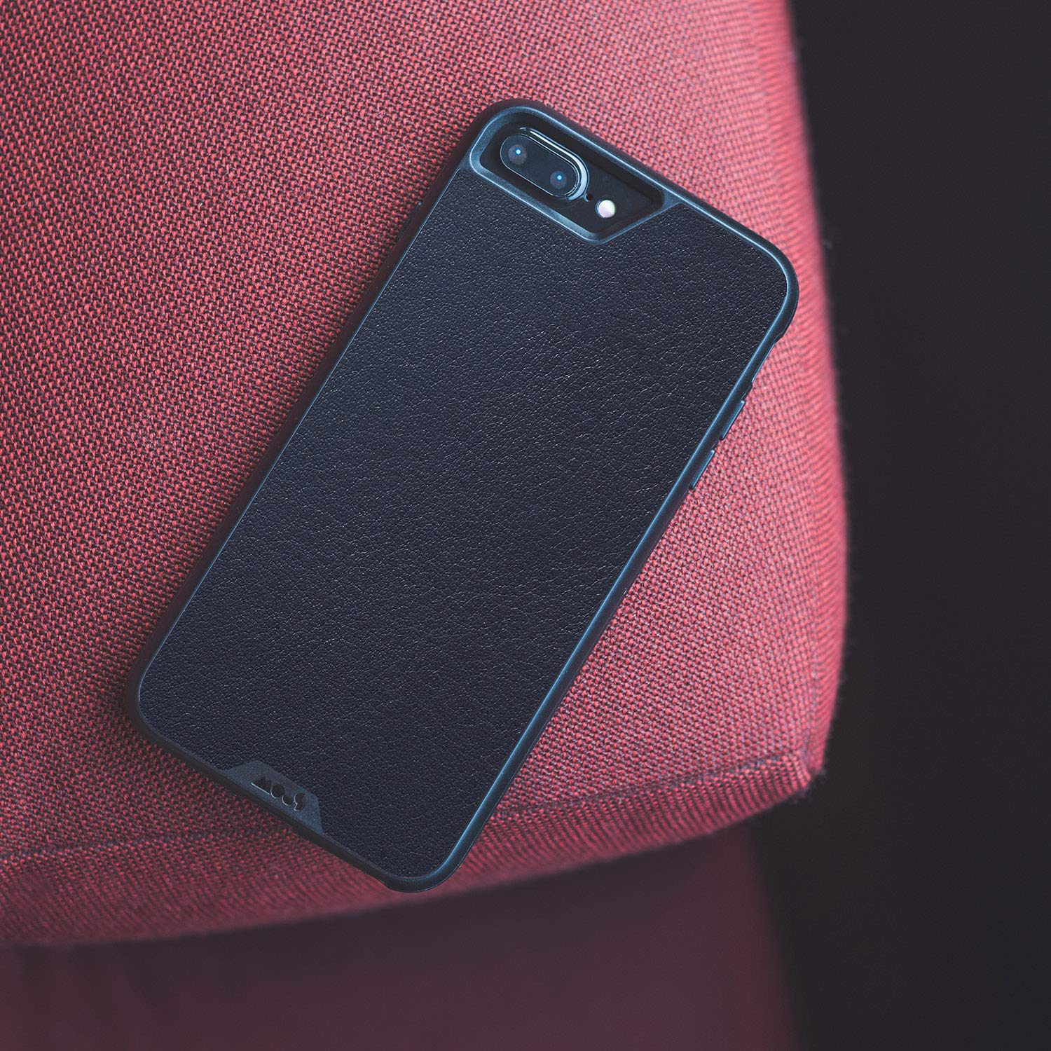 Mous Protective iPhone Case 8+/7+/6s+/6+ Plus - Black Leather - Limitless 2.0 by MOUS (Image #4)