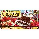 ロッテ 世界を旅する(R)チョコパイ<苺とショコラで仕立てたフレジェ> 1箱(6個)