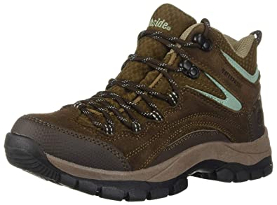 472a26d33b4 Northside Women's Pioneer Waterproof Hiking Boot, Dk Brown/Sage, 11 M US