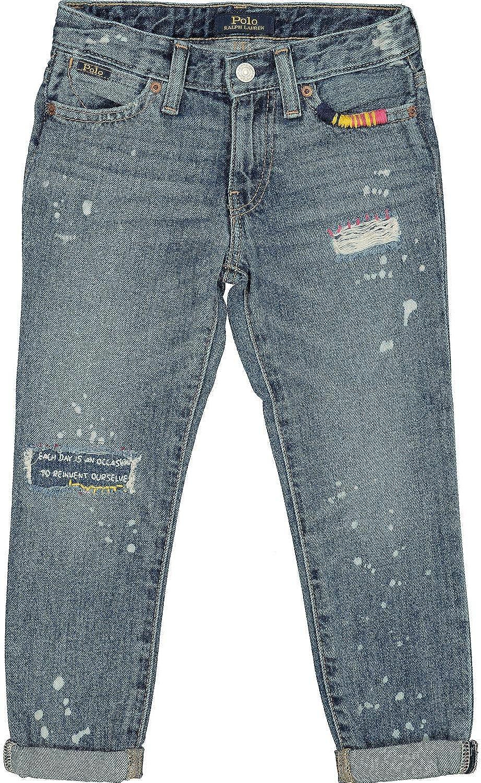 Ralph Lauren Polo - Pantalones Vaqueros Bordados, Color Azul Azul ...