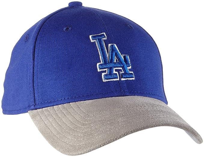 A NEW ERA Dodgers Suede 39thirty Stretch - Gorra de béisbol Hombre