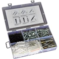TheCoolio 330 pc of Assorted Screws and Nylon Plugs