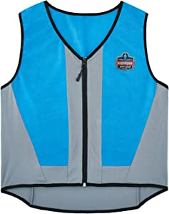 Ergodyne Chill-Its 6667 Cooling Vest, Evaporative PVA Material for Fast Cooling Relief, 2XL