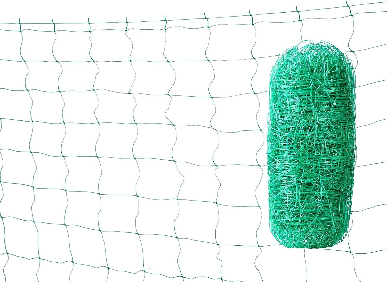 LAVZAN 5/5.5/6.5FT Width 15/20/25/30/50/60/80/100/150/200/250/328FT Length Green/White Trellis Netting Netting for Vine Plant Climbing Netting Plant Support Netting6.5X25FT