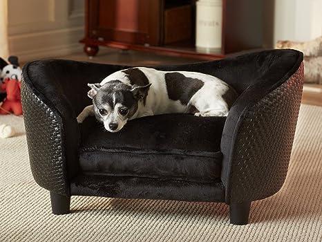 Perros perro cama de peluche sofá sofá cama para perros ...