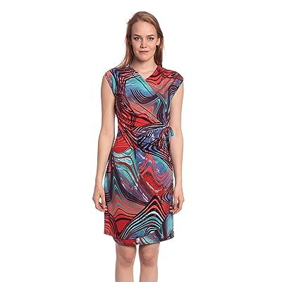 Abbino J499-9 Kleider Damen Frauen Mädchen - Made in Italy - Viele Farben - Übergang Frühling Sommer Herbst Damenkleider Feminin Sexy Spitze Festlich Elegant Vintage Sale Knielang Fashion