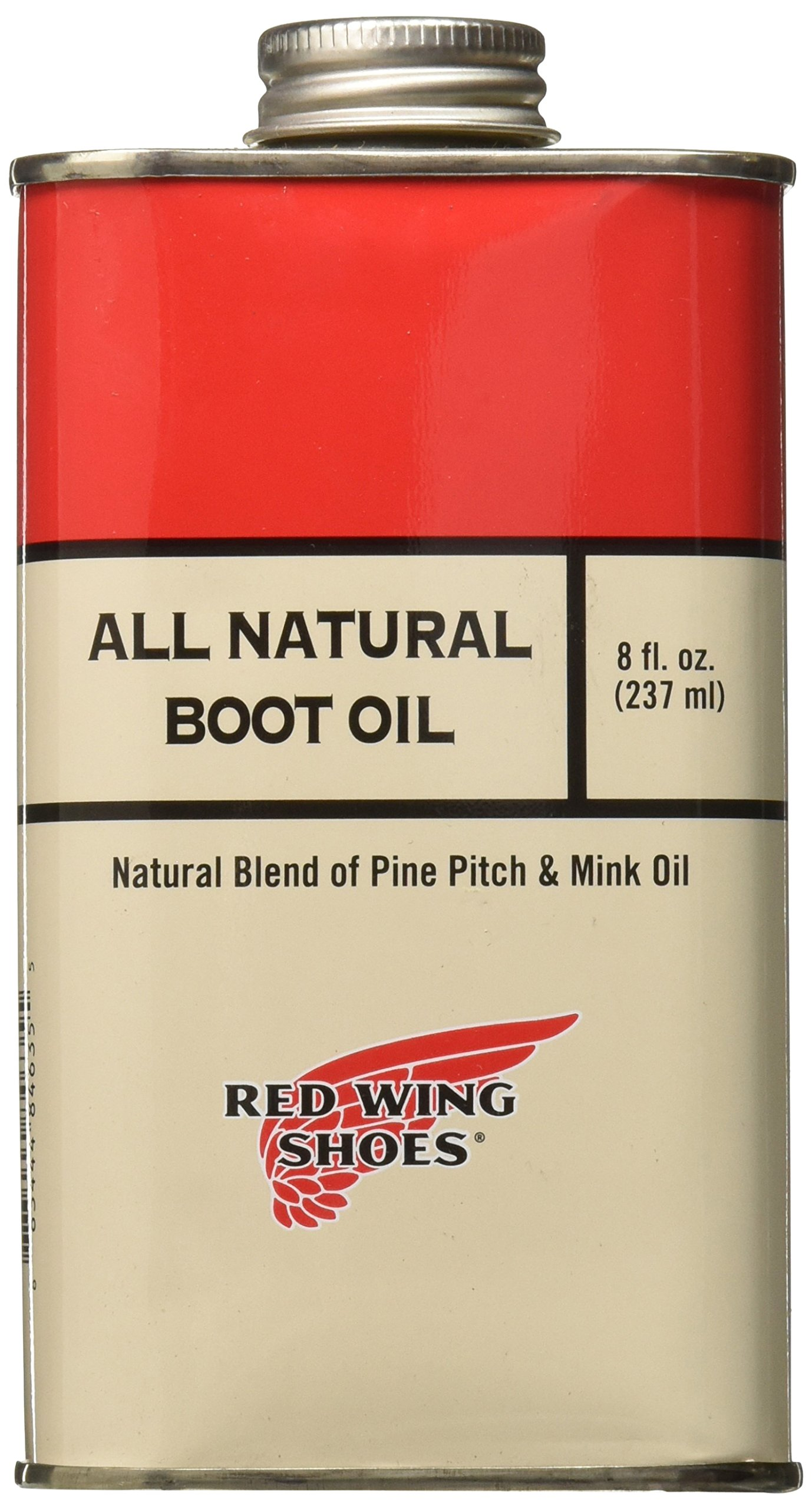 Red Wing Heritage All Natural Boot Oil, Clear, 20 M US