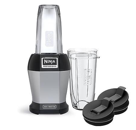 2. Ninja BL456 Blenders - Countertop, 24 oz, Silver & Black