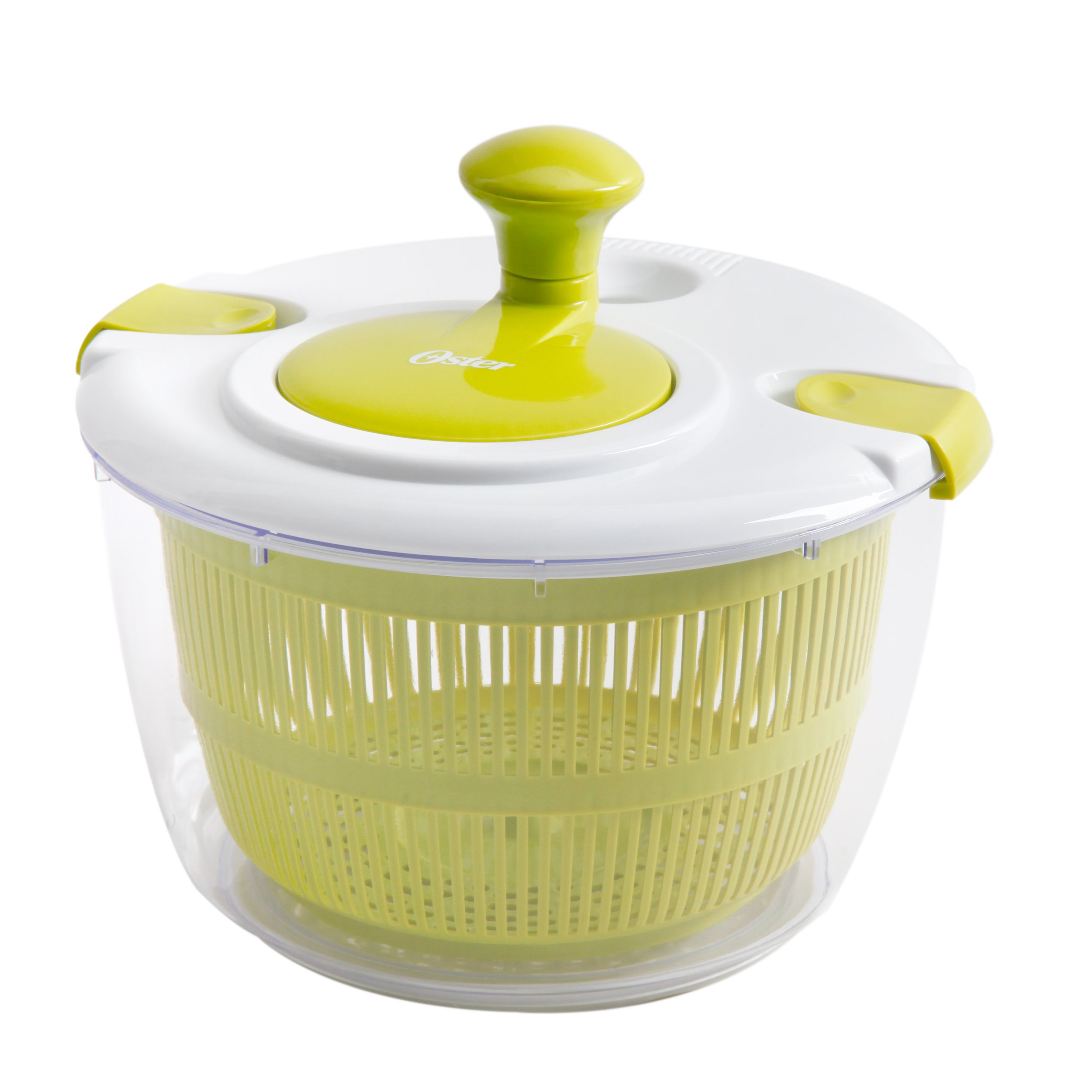 Oster Gadgets 92106.03 Kitchen Artistry Salad Spinner, Lime Green