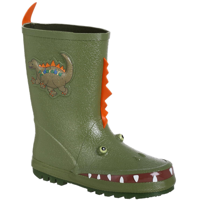 31beeebb77328 Amazon.com: Kidorable Boys' Dinosaur Rain Boot: Clothing