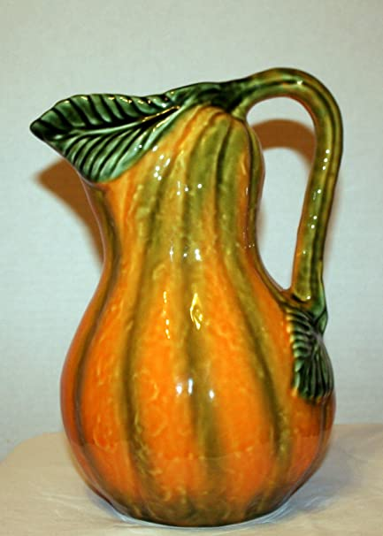 Olfaire Decorative Gourd Pitcher ~ Made in Portugal~: Amazon.co.uk on decorative gourd lamps, decorative gourd art, decorative gourd birdhouses, decorative gourd dolls, decorative gourds and squash, decorative gourd vessels,