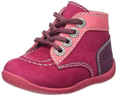 Chaussures à fermeture éclair Kickers rose fushia fille SvaKVBoU58