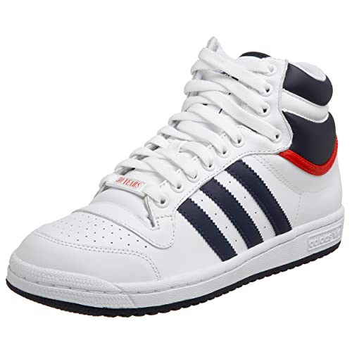 newest 36724 dc926 SCARPE UOMO ADIDAS TOP TEN G09836 (40 - RUNWHT-NNY-COLRED)  Amazon.co.uk   Shoes   Bags
