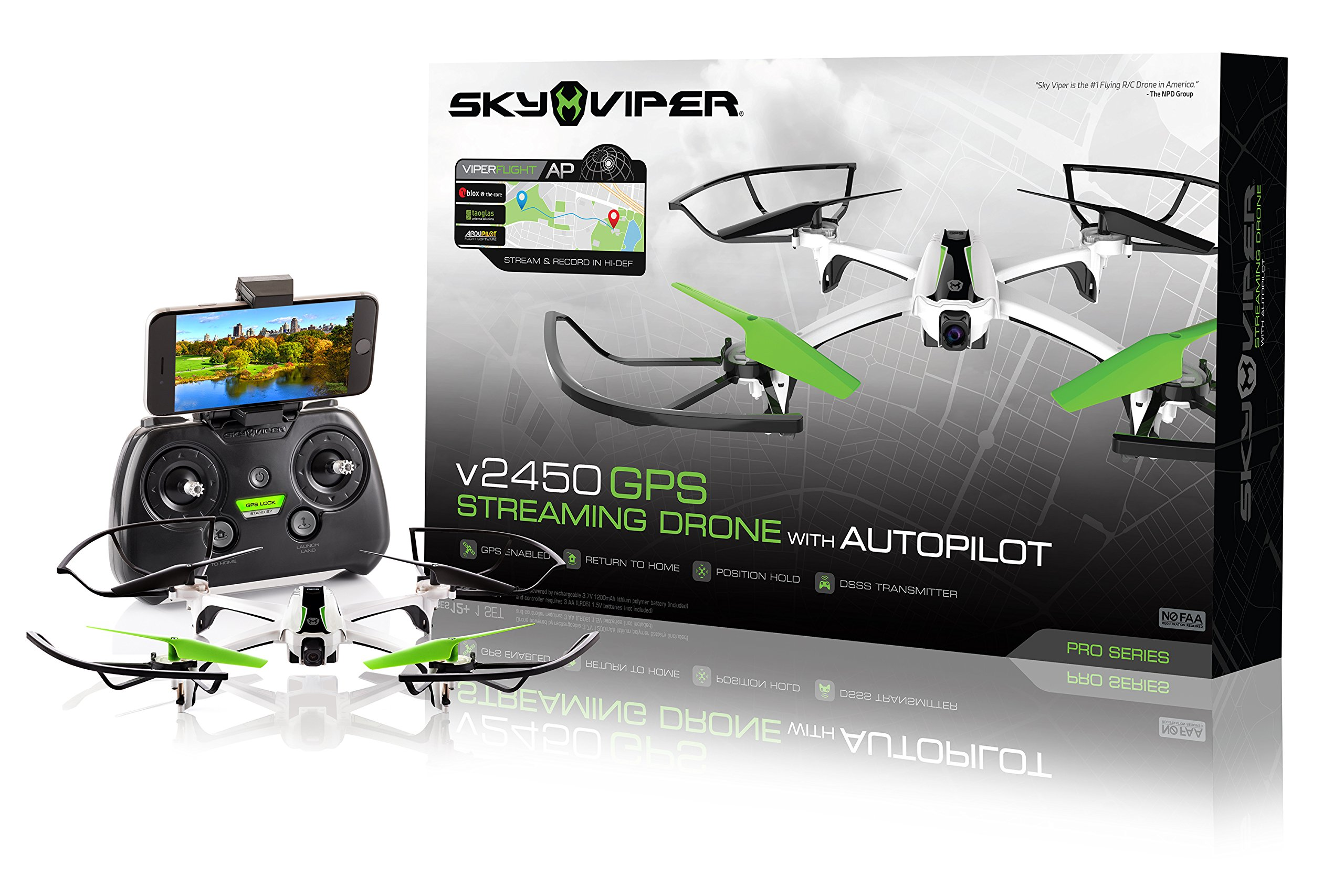 Sky Viper v2450GPS Drone with Autopilot and Gps by Sky Viper