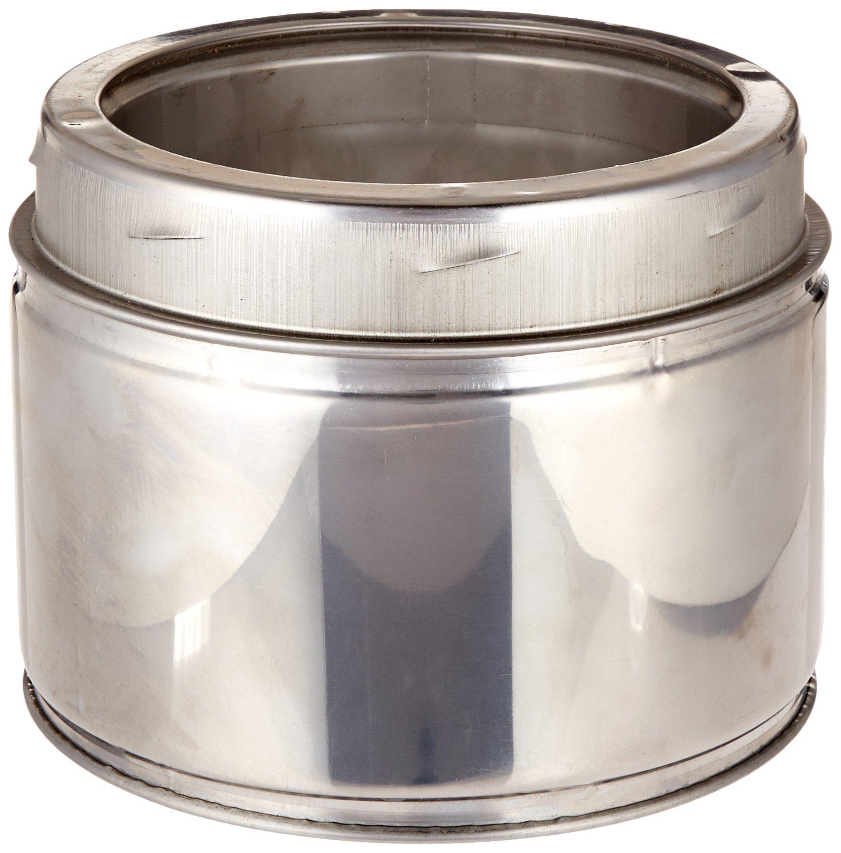 Selkirk Metalbestos 6UT-6 6-Inch X 6-Inch Stainless Steel Insulated Chimney Pipe
