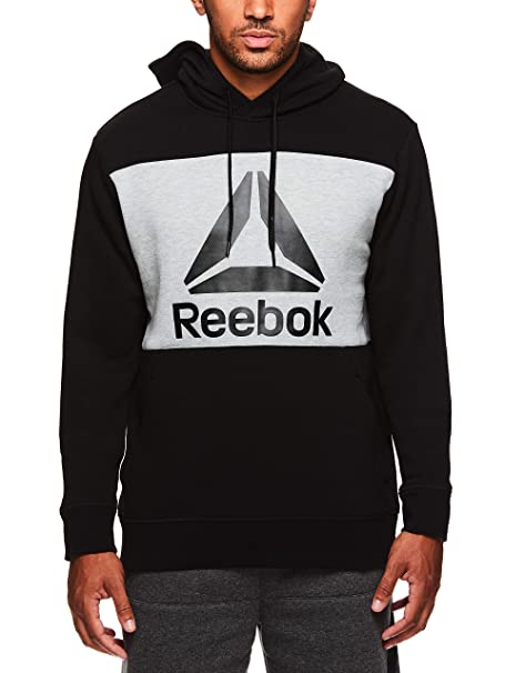 709bbcce Reebok Men's Performance Pullover Hoodie - Graphic Hooded ...
