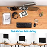 AVLT-Power Single 20 lbs Monitor Desk Stand - Mount