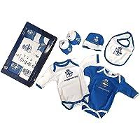 RC Deportivo Conjunto de Ropa Unisex Bebé, Azul Oscuro y Blanco, 0/3 Meses