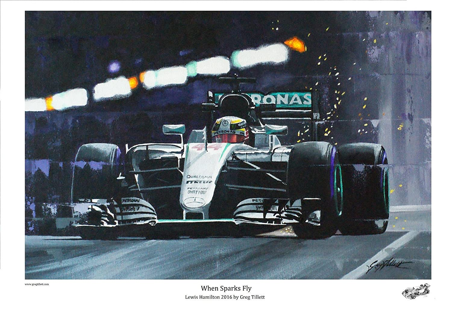 when Sparks Fly  –   Lewis Hamilton Greg Tillett