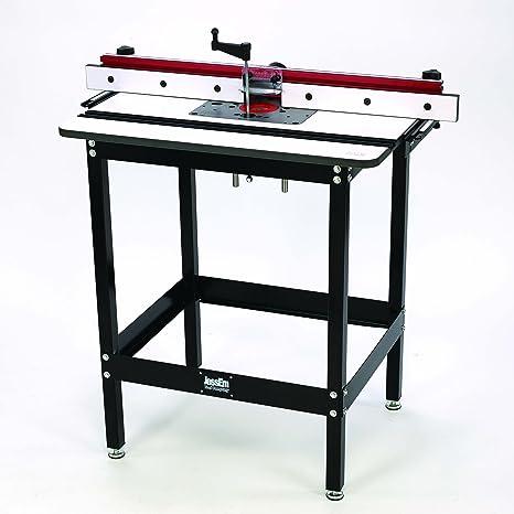 Jessem rout-r-lift II mesa de fresadora de incluido sistema ...