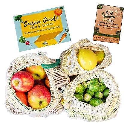 Reutilizables de frutas y verduras bolsas de ecoyou ...