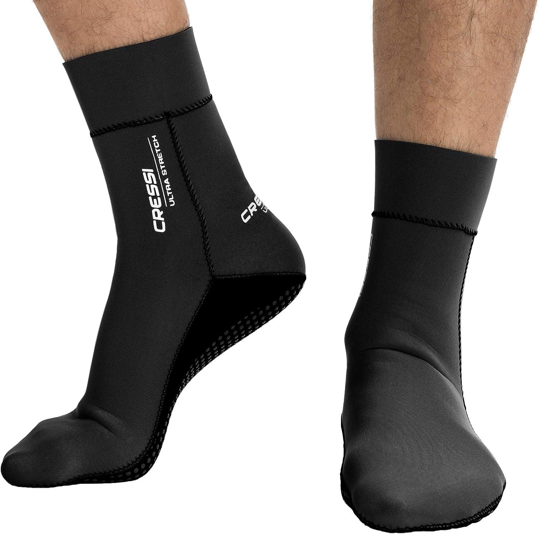 Cressi Neoprensocken Ultra Stretch Boots Escarpines de Neopreno, Unisex Adulto
