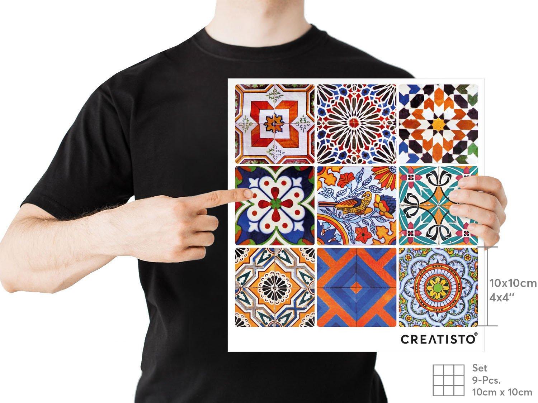 Piastrelle decorative per cucina stickers design adesivo decori