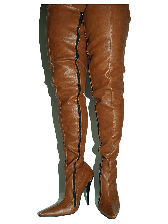 Kunstleder Stiefel high Heel 13cm Bolingier Poland Größe Größe Größe 36-47 FS1527 4f04db