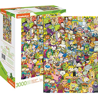 Nick 90's 3000 pc Puzzle: Toys & Games